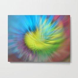 Abstract blurred light Metal Print
