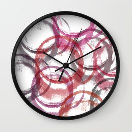 stain 1 Wall Clock