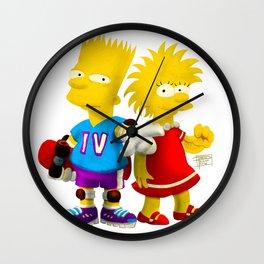 Lester & Eliza Wall Clock