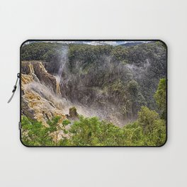 Thunderous beauty of Barron Falls Laptop Sleeve