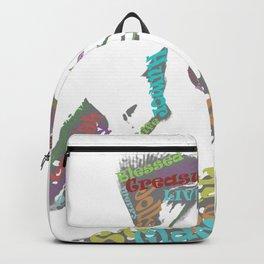 Happy woman II Backpack