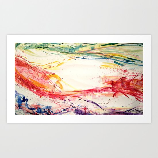 Fluid #2 Art Print