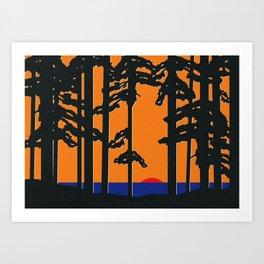 Baltic Sea Sunrise Art Print