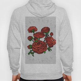 Doves and Red Roses Hoody
