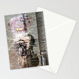 Storied violin.  Stationery Cards