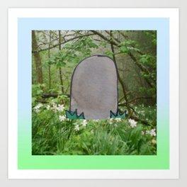 Grave pt. 2 Art Print