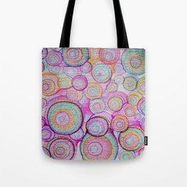 color bubbles Tote Bag