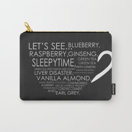 Tea from Scott Pilgrim & Ramona Flowers Carry-All Pouch