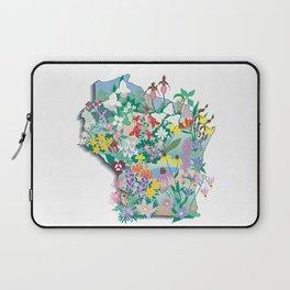 Wisconsin Wildflowers Laptop Sleeve