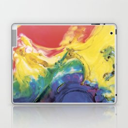 Red yellow blue abstract Laptop & iPad Skin