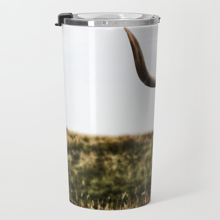 Highland Cow - color Travel Mug
