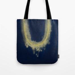 fragile surface, big blue Vence Tote Bag