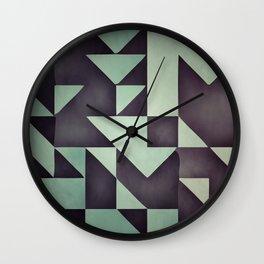 :: geometric maze VIII :: Wall Clock