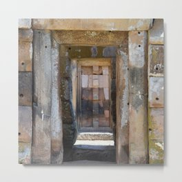 Ancient Doorway #4 Metal Print