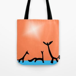 Les Animaux No. 2 of Series 4 Tote Bag