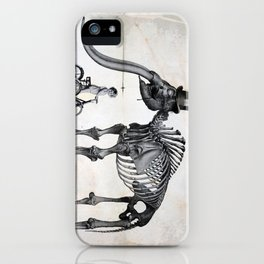 Mister Mastodon And Molly June iPhone Case