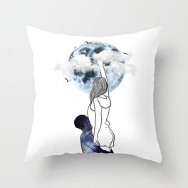 The true meaning of love. Throw Pillow