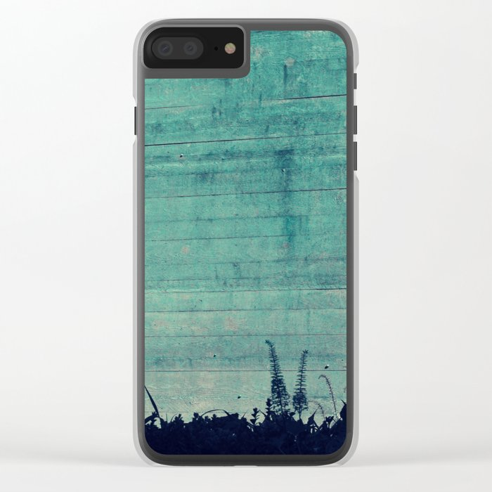 #98 Clear iPhone Case