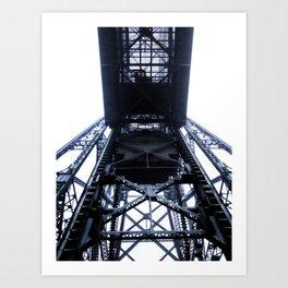 Foggy Lift #4 Art Print