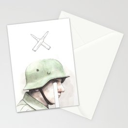 'War' - No winners, only losers and bigger losers. Stationery Cards