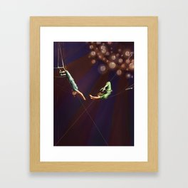 Aerialists Framed Art Print