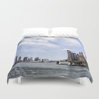 nyc Duvet Covers featuring NYC  by Forand Photography