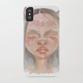 Fresh Girl iPhone Case