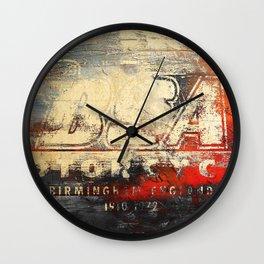 BSA - Vintage Label Wall Clock
