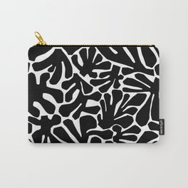 The Cut Outs // B&W Carry-All Pouch