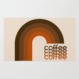Cocoa Coffee Rainbow Rug