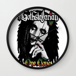 GOTHSTAFARIAN: One Clove Wall Clock