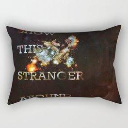This Stranger Rectangular Pillow