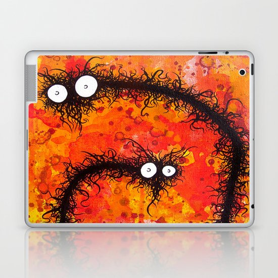 the creatures from the drain painting 31 Laptop & iPad Skin