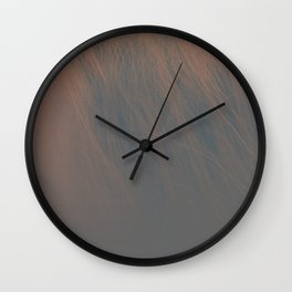 Dark Wall Clock