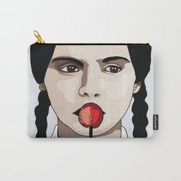 Wednesday Red Lollipop Carry-All Pouch