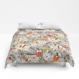 taco pop Comforters