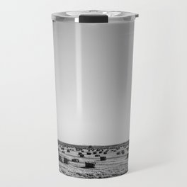 Salton Sea - Hay Stacks Travel Mug