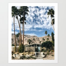 Home Sweet Home / Palm Springs Art Print
