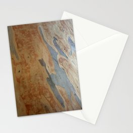 Striking Patterns Of Stripes And Flakes Stationery Cards