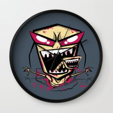 Chest burst of Doom Wall Clock
