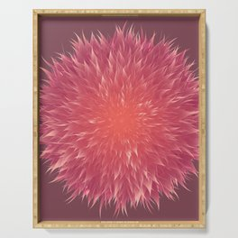 Mandala Flower || Serving Tray