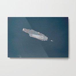 1366. USS Constellation Metal Print