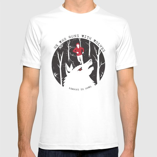 Sterek: He Who Runs With Wolves T-shirt