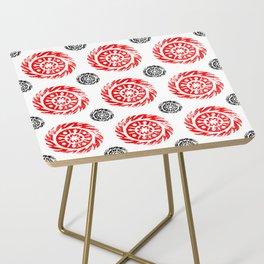 Sun mandala pattern Side Table