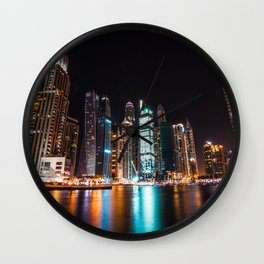 Dubai 61 Wall Clock