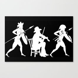 Fighting Fiddler II Canvas Print
