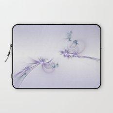 Fey Lights Fractal in Violet Laptop Sleeve