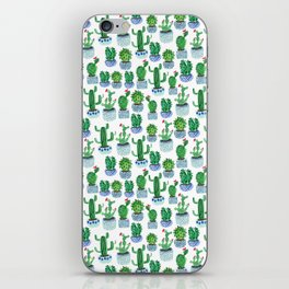 Cactus in Watercolor iPhone Skin