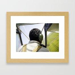 On the Air Framed Art Print