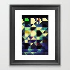 no rylyf Framed Art Print